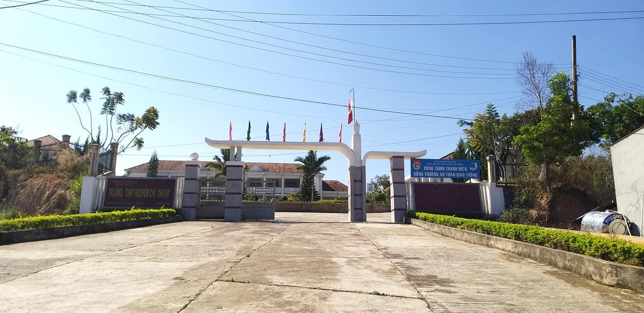 Trường THPT Nguyễn Chí Thanh đã sẵn sàng đón học sinh đi học trở lại